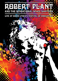 Robert Plant Disruption Festival DVD