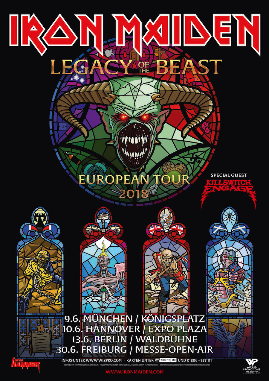 Iron Maiden Tour 2018 Big