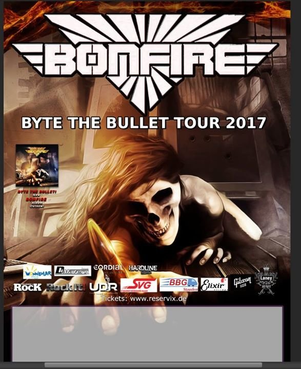 bonfire tourflyer